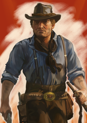 [DP] Arthur Morgan by Seadraz