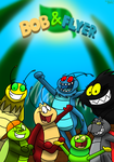 Bob and Flyer group v4 by BluebottleFlyer