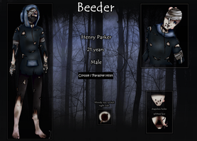Creepypasta Oc:   Beeder by ImaginemonsterVi