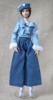 Jeans suit with chic by Bussardelka
