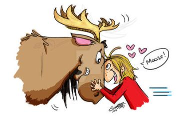 Moose Love by GorgeOnThis