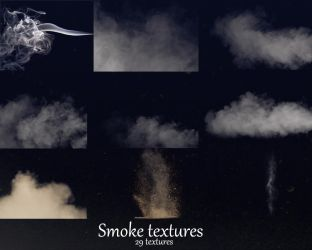 Smoke textures by ele22