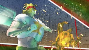 STREET FIGHTER V - Character History - Alex (10) by Zeref-ftx