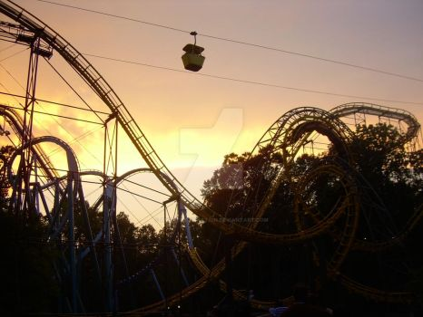 Busch Gardens' Sunset by AnaReincarnation
