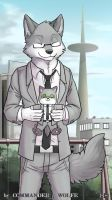 raindropx and his doll by COMMANDER--WOLFE