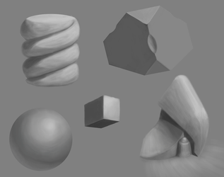 Form Study by SpazzStudios
