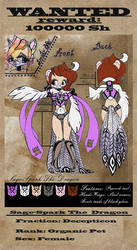 REFERENCE: Sage-Spark The Dragon by Genetta-TO