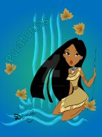 Pocahontas wild by DeedNoxious