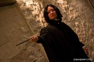 Severus Snape -Cosplay 3 by CrazyInsaneJess