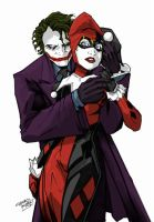 Joker and Harley by Optronyx