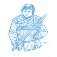 PIN-UP: Game of Thrones: Sam Tarly by StephenBJones