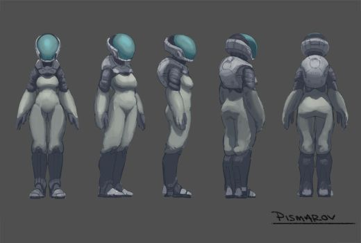 Wanderers_female_concept by AnthonyPismarov