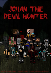 [Birthday gift]  Johan The Devil Hunter-Cover page by Mikaja-chan