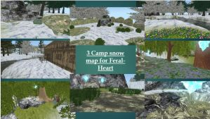 Free Feral-heart map ~Snow map by FabouCaribou