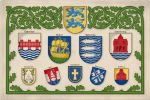 Coats of arms of the towns of Northern Schleswig by Regicollis