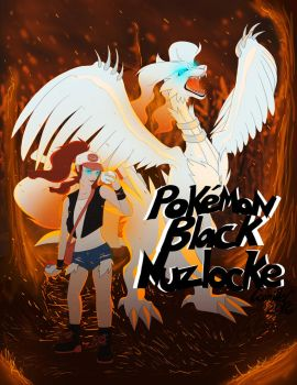 Nuzlocke Black: Cover by LotusLostInParis