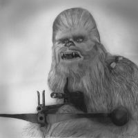 Chewbacca | Star Wars by MikeManuelArt