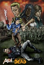 Ash vs the walking dead complete by terminus70