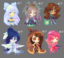 [22] [CLOSED] Auction - chibi adopts! by Hell-Alka