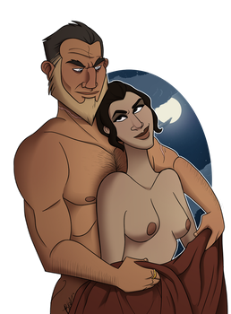 Commission: Ulysses and Ronda by Bubba-Smith