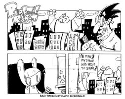 Bad Timing by PLASTIC-ROBOT-COMIC