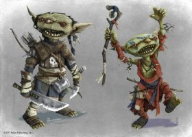 Pathfinder - Goblin 'Iconics' by TimKings-Lynne