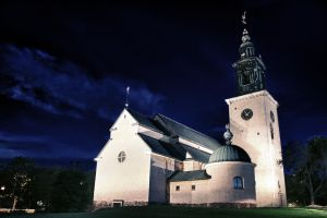 The Church Of Staffan by Krisum