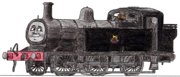 Jinty the Shunting Engine by 01Salty