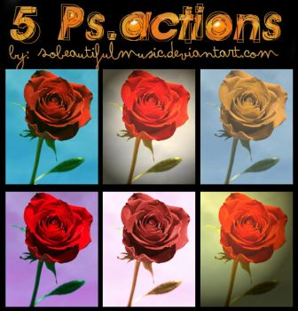 6 PsActions by sobeautifulmusic