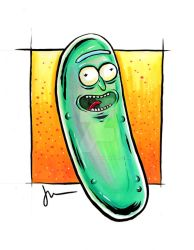 Pickle Rick! by melies