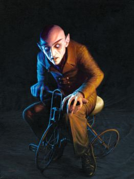 Nosferatu On A Tricycle by Kalapusa