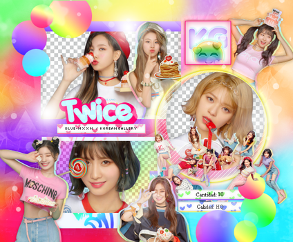 TWICE | WHAT IS LOVE? | PACK PNG by KoreanGallery