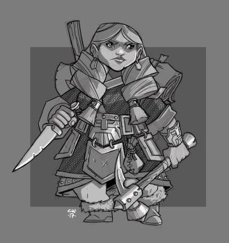 Dwarf Pathfinder by cwalton73