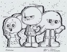 The Watterson Siblings by RifkiTheAmateur