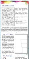 Comic Page Tutorial - Steps 4-6 by glitcher