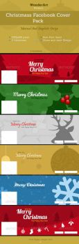 Christamss Facebook Cover Design Pack by sktdesigns
