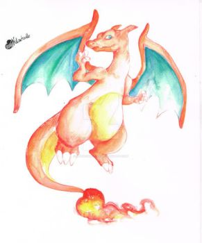 Dracaufeu by Natachouille