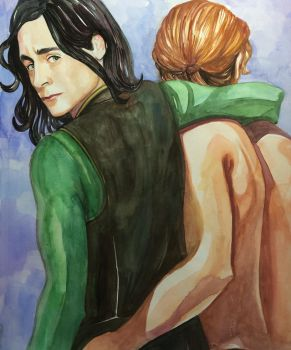 Loki and Thor, Going Home by golikethat