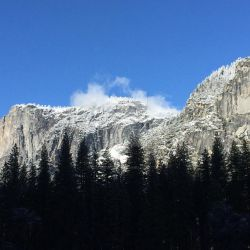 Clouds Kiss the Rim (Yosemite) by Yosemite-Stories