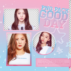 GOOD DAY PNG PACK by mabling