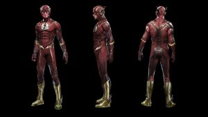 Flash S4 Costume Redux v1.0 by uncannyknack
