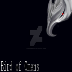 Bird of Omens Album Art (RED EYE VERSION) by PicturesAhoy