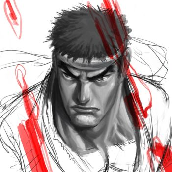 Ryu - Value Study by alvinlee