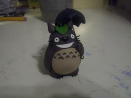 Clay Totoro by Robisaur