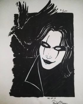 The Crow by Vianne1013