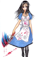ALICE MADNESS RETURNS by ivixus
