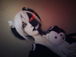Despair - Monokuma, Danganronpa Cosplay by AlicexLiddell