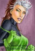 80's Rogue Sketch Card '09 by Dangerous-Beauty778