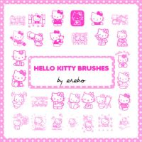 Hello Kitty Brushes by KrisPS