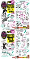 How to draw FEMALE / GIRL'S HANDS tutorial part 2 by STUDIOBLINKTWICE